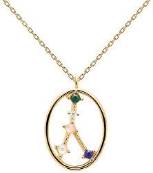 Originální pozlacený náhrdelník Rak CANCER CO01-347-U (řetízek, přívěsek)