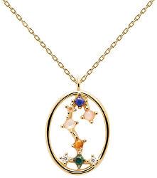 Originální pozlacený náhrdelník Štír SCORPIO CO01-351-U (řetízek, přívěsek)
