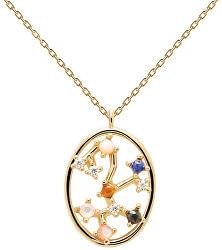 Originální pozlacený náhrdelník Střelec SAGITARIUS CO01-352-U (řetízek, přívěsek)