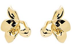 Úchvatné pozlátené náušnice narcis Gold AR01-191-U