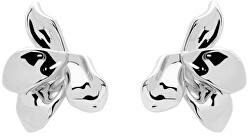Úchvatné strieborné náušnice narcis Silver AR02-191-U