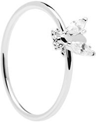 Krásný stříbrný prsten s něžnou včeličkou BUZZ Silver AN02-218