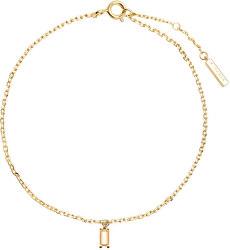 Něžný pozlacený náramek s přívěskem PEACH ASANA Gold PU01-070-U