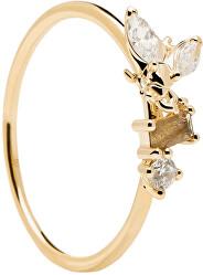 Něžný pozlacený prsten s krásnou včeličkou REVERY Gold AN01-219