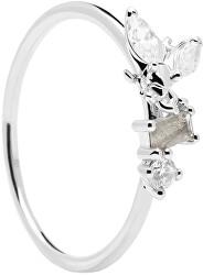 Něžný stříbrný prsten s krásnou včeličkou REVERY Silver AN02-219