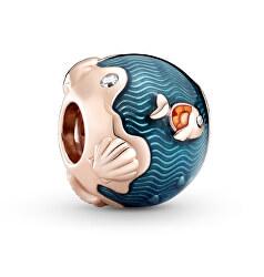 Bronzový korálku Ryba v oceáne 789004C01