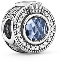 Stříbrný korálek s korunkou Blue Crown O 799058C01