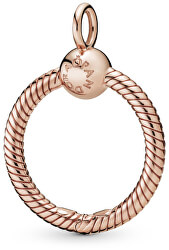 Bronzový náhrdelníkový přívěsek na korálky Rose 388296/388256