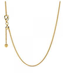 Elegantní pozlacený řetízek Shine 368638C00-60
