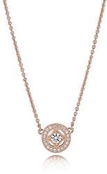 Luxusní bronzový náhrdelník 380523CZ-45