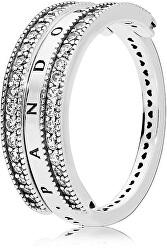 Luxusní stříbrný prsten 197404CZ