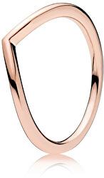 Minimalistický bronzový prsten 186314