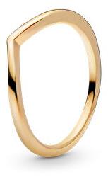 Minimalistický pozlacený prsten Shine 168742C00