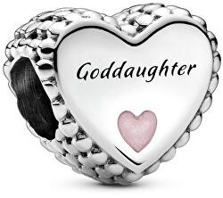 Nežný strieborný korálik Goddaughter 799147C01