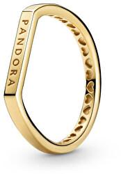 Ezüst aranyozott  gyűrű 169048C00