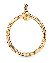 Pozlacený náhrdelníkový přívěsek na korálky Shine 368735C00/368736C00