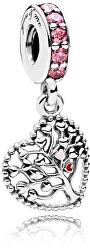 Prekrásny strieborný prívesok Strom lásky 796592CZSMX