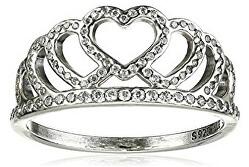 Romantický stříbrný prsten 190958CZ
