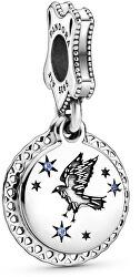 Stříbrný korálek Harry Potter Havraspár 798831C01