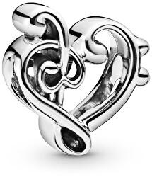 Stříbrný korálek Láska k hudbě 798346