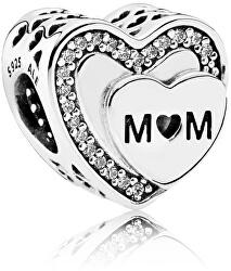 Stříbrný korálek Mamince 792070CZ