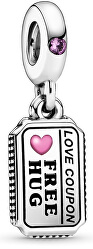 Stříbrný korálek Poukaz lásky 798703C01