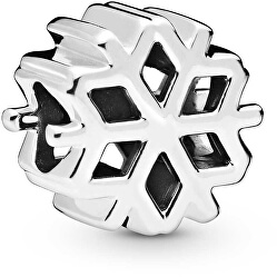 Stříbrný korálek Sněhová vločka 798469C00