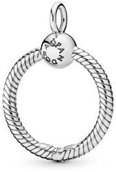 Stříbrný náhrdelníkový přívěsek na korálky Moments 398296/398330