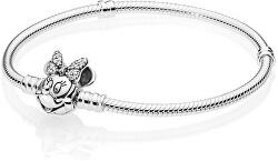 Stříbrný náramek Disney Minnie 597770CZ