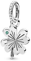 Stříbrný přívěsek Čtyřlístek 397965NAG