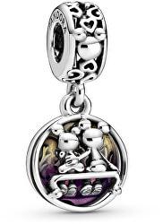 Stříbrný přívěsek Disney Mickey a Minnie navždy 798866C01