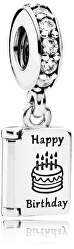 Strieborný prívesok Happy Birthday 791723CZ