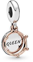 Strieborný prívesok Kráľovná 788255