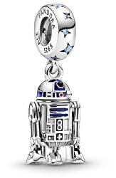 Strieborný prívesok Star Wars Droid R2-D2 799248C01