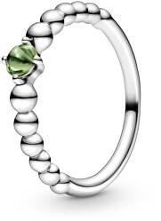 Stříbrný prsten pro ženy narozené v srpnu 198867C10