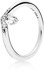 Stříbrný prsten s kamínky 197790CZ