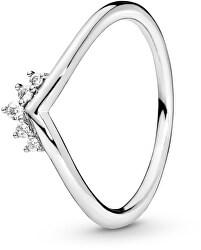 Stříbrný prsten s kamínky 198282CZ