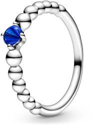 Stříbrný prsten pro ženy narozené v září 198867C12