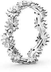 Stříbrný prsten Věneček sedmikrásek 198799C01