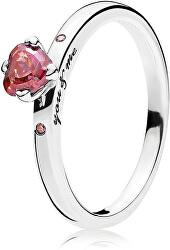 Stříbrný prsten You & Me 196574CZRMX