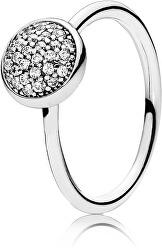 Stříbrný třpytivý prsten 191009CZ