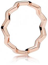 Stylový bronzový prsten 187752