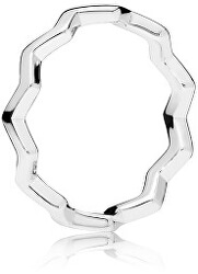 Stylový stříbrný prsten 197752