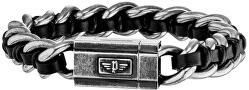 Pánsky náramok s patinou Shock II PJ26052BSE / 01