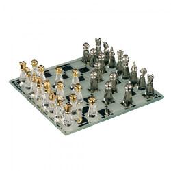 Dekorace Malé šachy z českého křišťálu Preciosa 0823 00