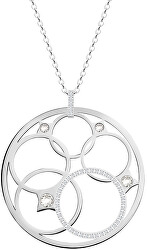 Dlhý oceľový náhrdelník Gemini 7330 00