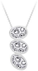 Dlouhý ocelový náhrdelník s třpytivým přívěskem Idared 7365 00