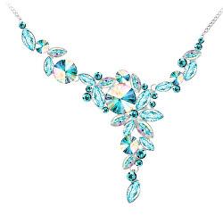 Jedinečný náhrdelník Wave s českým křišťálem Preciosa 2275 71