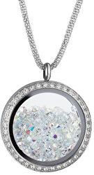 Luxusné náhrdelník s kryštálmi Moonlight 7290 42