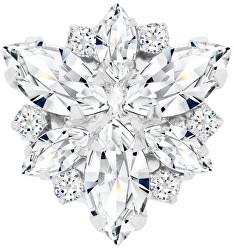 Magnetická brož s čirými krystaly Irisa 2269 00